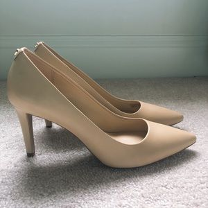 Michael Kors Tan Leather Pumps